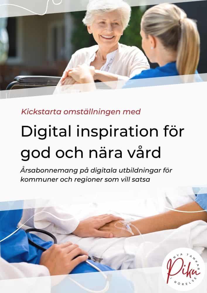 Digital inspiration för God och nära vård